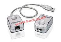 Активный модуль-удлинитель USB2.0 до 45 метров через кабель UTP 5 категории (Локальный мо (2X-UCE50)