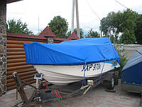 Тент стояночный на катер. Пошив на заказ в Харькове., фото 1