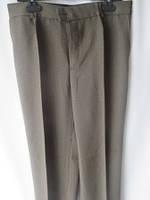 Коричневые брюки в классическом стиле