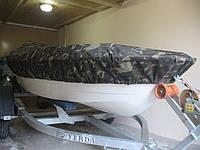 Тент на катер из камуфляжной ткани. Пошив тентов в Харькове.