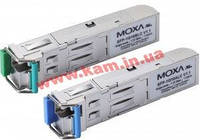 WDM-type (BiDi) SFP интерфейсный модуль, Tx 1310nm, Rx 1550nm, разъем LC, дальность (SFP-1G20ALC-T)