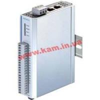 Станция удаленного дискретного ввода/ вывода, 6DI/ 6 реле, 2 порта Ethernet (ioLogik E1214)