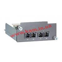 Интерфейсный модуль, 2 порта 100BaseFX multi mode, кабели ST (PM-7500-2MST)