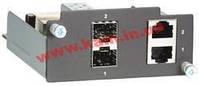 Интерфейсный модуль, 2 порта 10/ 100/ 1000BaseT(X) / SFP (mini-GBIC) (PM-7200-2GTXSFP)