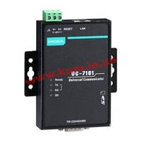 Встраиваемый компьютер с 1 портом RS-232/ 422/ 485, 1х10/ 100 Ethernet, SD, uClinux OS (UC-7101-LX)