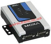 2-Ports RS-232/ 422/ 485 Secure Serial Device Server, SD/ MMC Socket, 12...48VDC Powe (NPort 6250-T)