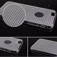 Силиконовый прозрачный чехол на айфон 5 5s