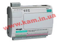 Ethernet сервер удаленного аналогового ввода-вывода, 8AI/ 2AO, интерфейс Ethernet (ioLogik E2240-T)