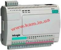 Станция удаленного дискретного ввода/ вывода, 6RTD/ 4DO, интерфейс Ethernet (Modbus/ (ioLogik E2260)
