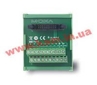 Контактная колодка 20pin для модулей ioLogik 4000, монтаж на DIN-рейку (TB1600)