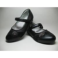 Детские туфли  33-2 черн
