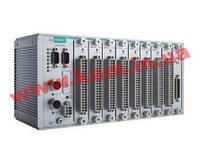 Modular RTU controller with M12 connectors, 9 I/ O slots, C/ C++, -40 to 75C (ioPAC 8500-9-M12-C-T)