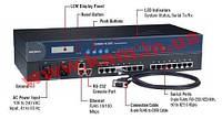 16xRS-232/ 422/ 485 230.4кбод Асинхронный коммуникационный 2x10/ 100Mбит Ethernet серве (CN2650I-16)