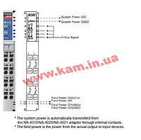 4-канальный модуль релейного вывода с изоляцией, питание 24 В постоянного тока или 230 В (M-2450)
