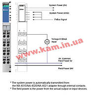 8-канальный модуль аналогового ввода с изоляцией, вход 4...20 мА, разрешение 12 бит (M-3802)