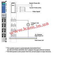 8-канальный модуль аналогового ввода с изоляцией, вход 0...10 B, разрешение 12 бит (M-3810)