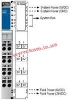 Модуль распределения дополнительного питания, шина 0В (M-7804)