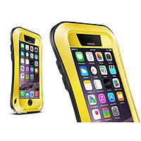 Чехол противоударный Love Mei Small Waist для Apple iPhone 6 6S 4.7 желтый