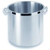 Кастрюля нержавеющая сталь высокая с крышкой (диаметр 30 см) 21 л PM-56005