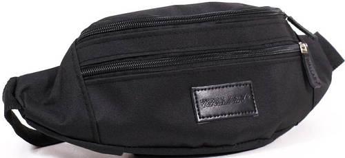 Вместительная сумка на пояс из полиэстера Wallaby 2902-1, черный