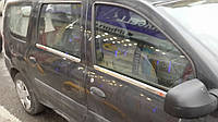 Окантовка стекол Renault Logan MCV (4 шт.)