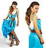 Голубое платье 15552