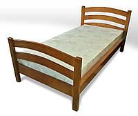 Кровать деревяная односпальная Лора