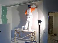 Финишная шпатлевка стен, потолка. Нанять отделочников для шпатлевки. Мастера - шпатлевщики