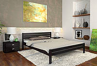 Кровать деревянная Роял из натурального дерева двуспальная