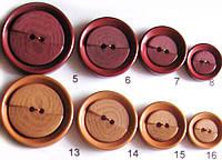 Пуговица прошивная женская костюмная и пальтовая диаметр 34,28,23, и 18 мм