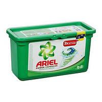 Капсулы для стирки Ariel 3в1 Mountain Spring 28 шт  (для белого белья), фото 1