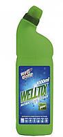 Антибактериальный очиститель Welltix хвойный, для унитаза, 1л, фото 1