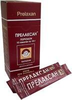 Прелаксан -профилактика запора,в рационе питания при запоре.(порошок 10пакетов по 10гр.,Украина)