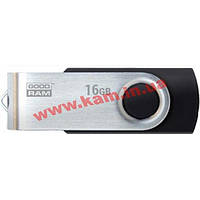 USB Накопитель USB 3.0 16GB GOODRAM Twister Black (UTS3-0160K0R11)