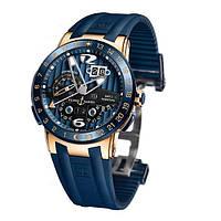 Механические часы Ulysse Nardin GMT ± Perpetual El Toro Gold Blue U6009, фото 1
