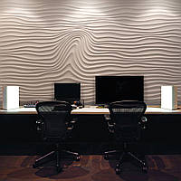 """3-D панели из гипса """"Wave decor"""""""
