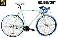 "Велосипед 28"" Profi JOLLY G58 S700C-1H белый, фото 1"