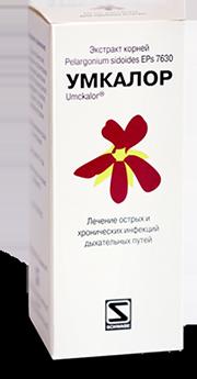 """Противовирусный препарат """"Умкалор""""- антимикробный и иммуномодулирующий препарат на основе растительных (20мл.)"""
