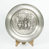 Тарелка оловянная, олово, Германия, Карл Шпицвег Квартет