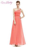 Вечернее платье Юнона коралл. S