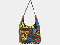 Женская сумка из ткани LVIV