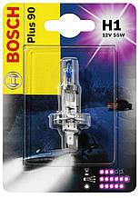 Лампочка H1+90 Bosch 1987301076,