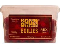 Бойлы Brain Diablo (Spice) Soluble 1000 gr, mix 24 mm