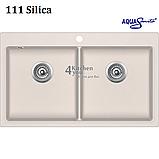 Гранітна мийка AquaSanita Magna SQM-200 (860х510 мм.), фото 4