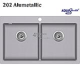 Гранітна мийка AquaSanita Magna SQM-200 (860х510 мм.), фото 7