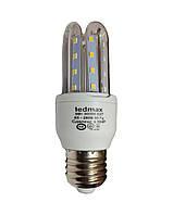 Светодиодная лампа LEDMAX 5Вт 3U5W E27 3000K, фото 1