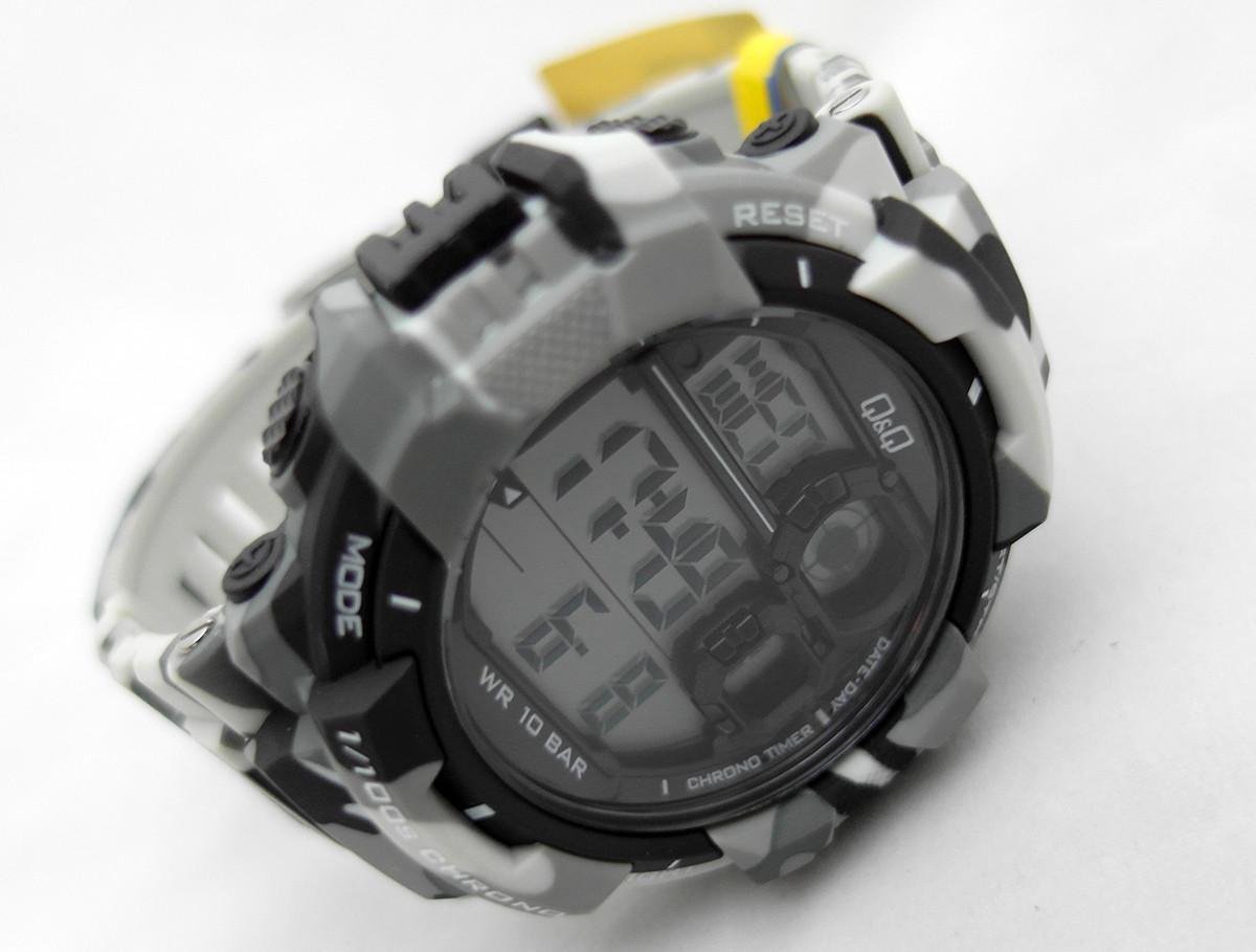 09302a29 Часы Q@Q terminator - 10Bar спортивные, можно плавать, m143j004y ...