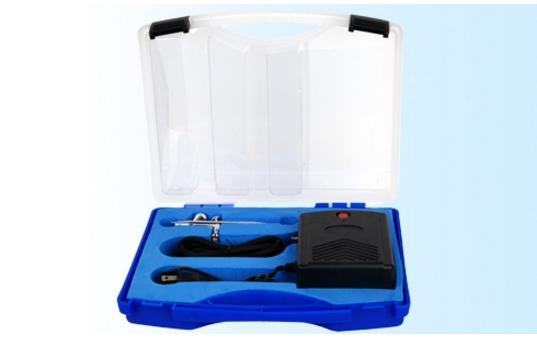 Аэрограф в комплекте с компрессором 0,2мм FENGDA BD-831 - Интернет-магазин AUTOSKLAD – краски, автоэмали, герметики, лаки, наборы инструментов, компрессоры в Днепре
