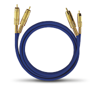 OEHLBACH Межблочные кабели OEHLBACH Каб/стерео  2036 Master Set NF 1 x 3,00m blue