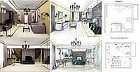 Дизайн помещения, проектирование. Услуги дизайнера